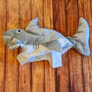 Shark dog costume, one size fits most